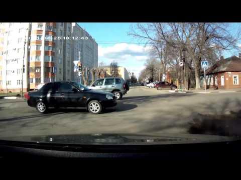 Тамбов, авария на ул КМаркаса - Энгельса, 26 апреля 2013г
