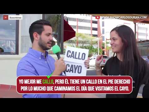 Dominican People TV - Street grammar outside Santo Domingo college 2016