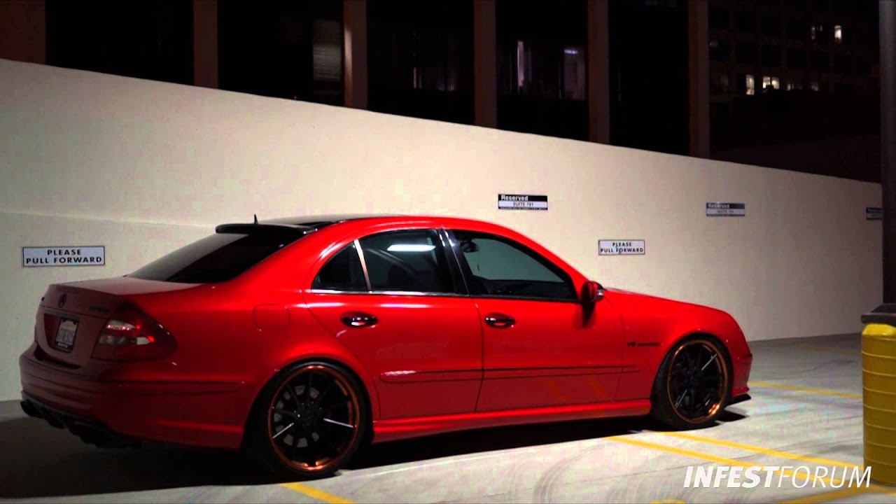 mercedes e55 amg by elevatedautoconcepts youtube. Black Bedroom Furniture Sets. Home Design Ideas