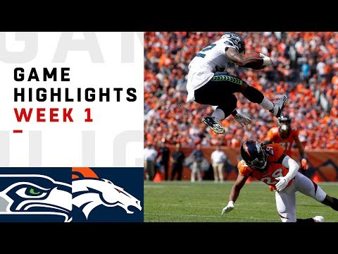 Seahawks vs. Broncos Week 1 Highlights | NFL 2018