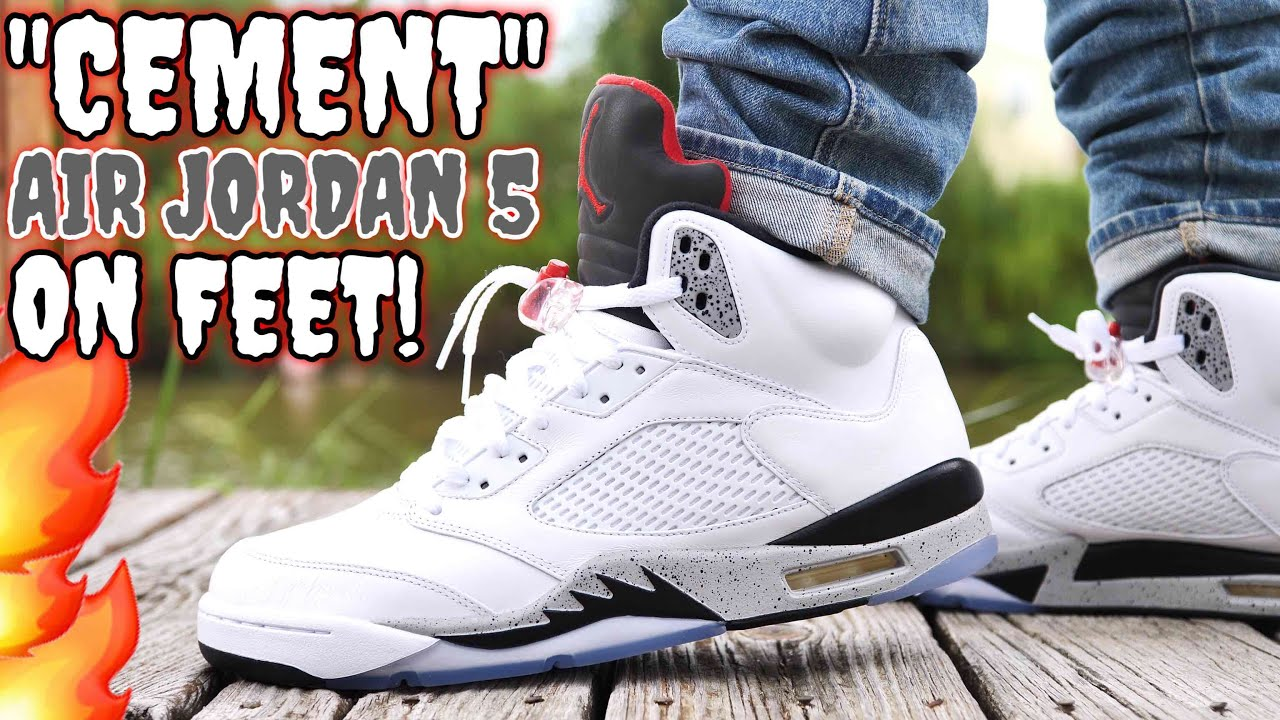 Green Jordan Cement On Feet : Quot cement air jordan on feet is this the best