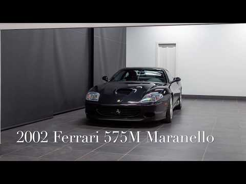 2002 Ferrari 575M Maranello, Exterior Walk Around