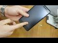Клеим матовое защитное стекло из китая на телефон XiaoMi