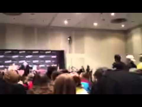 Christopher Lloyd shares his thought and memories of Andy Kaufman at New York Comic Con NYCC 2012