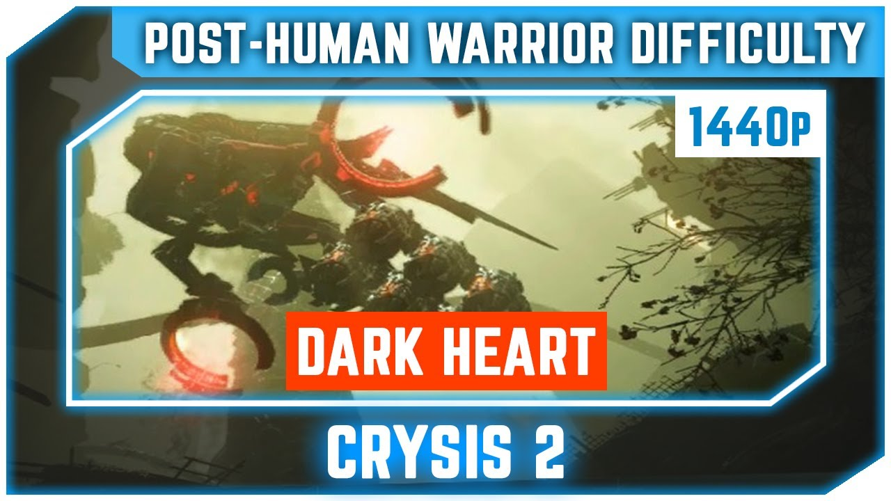 Crysis 2 - Dark Heart - All Collectibles - Post Human Warrior Difficulty - Ultra 1440p 60 FPS