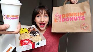 Δοκιμάζω donuts από τα DUNKIN' DONUTS | Marianna Grfld