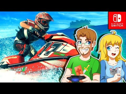 JET SKI FAIL - Aqua Moto Racing Utopia (Nintendo Switch)