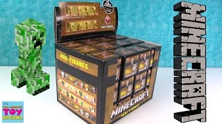 Minecraft Chest Series 1 w/ CODES Gold Chase Figures 2 3 4 5 6 Toy Review | PSToyReviews