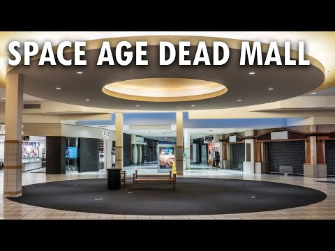 THE SPACE AGE DEAD MALL | Eastland Mall - Bloomington, IL