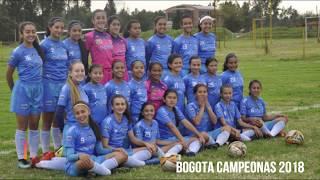 SELECCION BOGOTA INFANTIL FEMENINA 2018