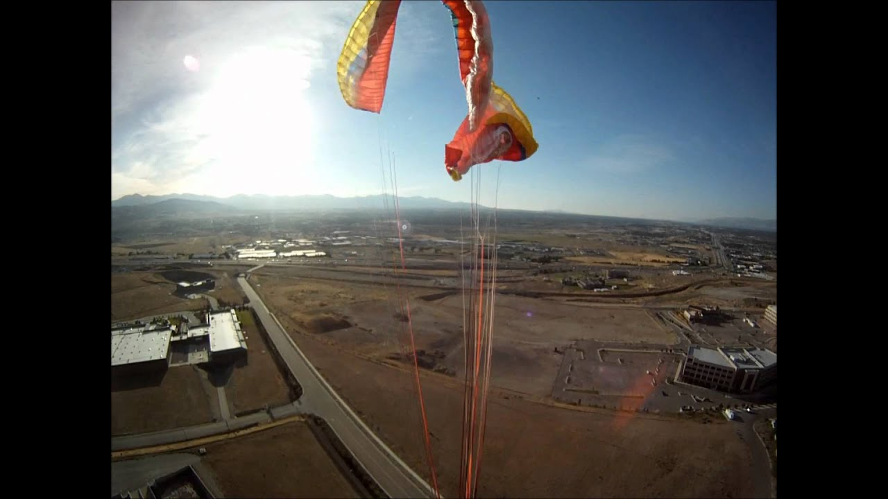 how to make a paraglider wing