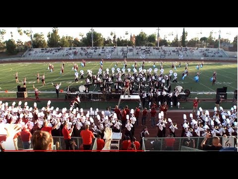 UMass Minuteman Marching Band - 2018 Pasadena Bandfest