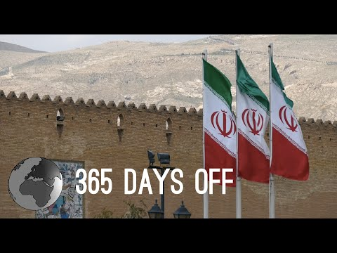 Episode 2 - Iran - Tehran to Shiraz / 365 days off - Travel around the world