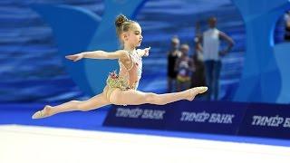Патриция Стрекаловская, 5 лет (2010 г.р.) Москва, художественная гимнастика