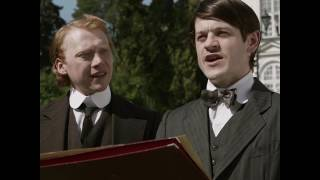 Iwan Rheon and Rupert Grint in Urban Myths