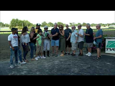 video thumbnail for MONMOUTH PARK 8-3-19 RACE 13