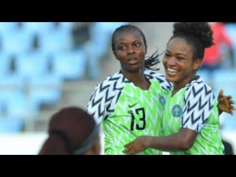 Super Falcons of Nigeria 4-2 Cameroon (Penalties)