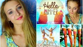 Summer Makeup Tutorial ♡ Collab with thebeautyguru4u!