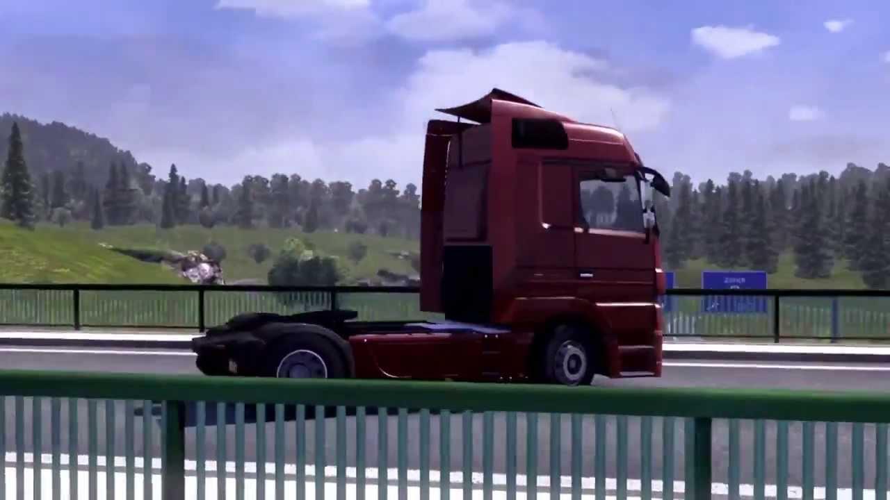 euro truck simulator 2 internationaler promo trailer youtube. Black Bedroom Furniture Sets. Home Design Ideas
