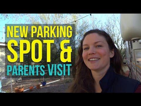 Dec 29, 2016: New Parking Spot and Parents' Visit