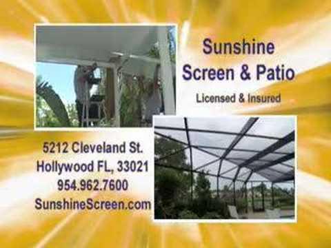 Beau Sunshine Screen U0026 Patio
