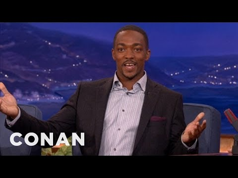 Anthony Mackie Is BFFs With Ryan Gosling - CONAN on TBS