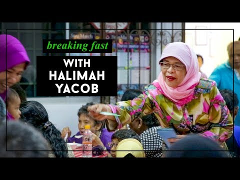 Breaking Fast: Madam Halimah Yacob