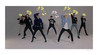 인피니트 INFINITE - 태풍 (The Eye) Dance Practice with Scribble Ef…