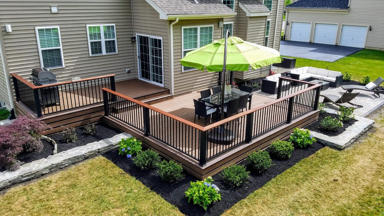 Deck, Patio, And Landscaping