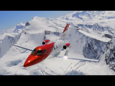 HondaJet, the world's most advanced light jet