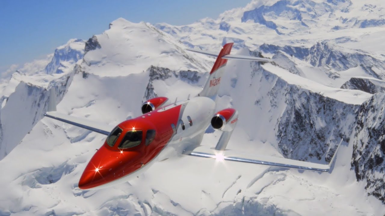 Hondajet the world 39 s most advanced light jet youtube for How much is a honda jet