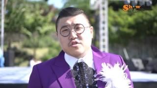 knn 남강 트로트가요제 진행 신지원 (feat.쇼단 싸이버거 쇼단장)