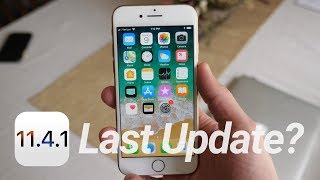 iOS 11.4.1 Update Released: What