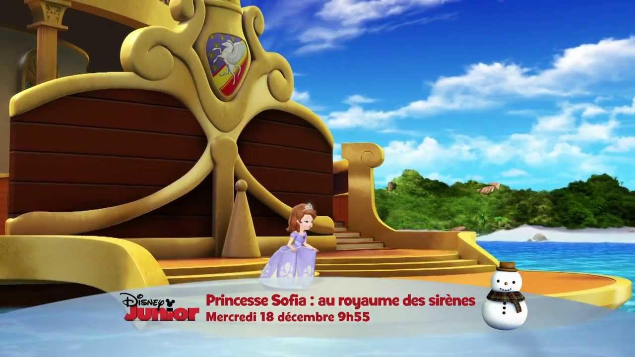 Princesse sofia : au royaume des sirènes   mercredi 18 décembre à ...