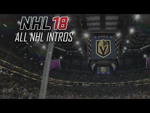 NHL 18 - All NHL Intros