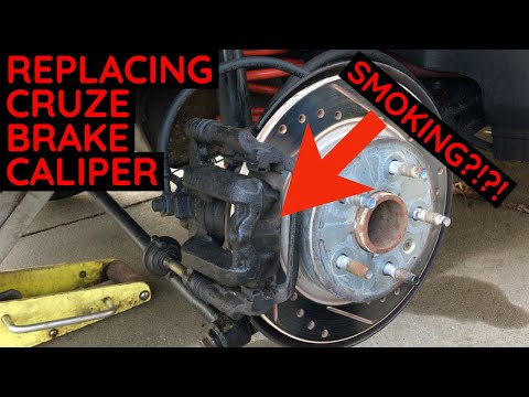 Chevy Cruze Rear Brake Caliper Replacement - How To