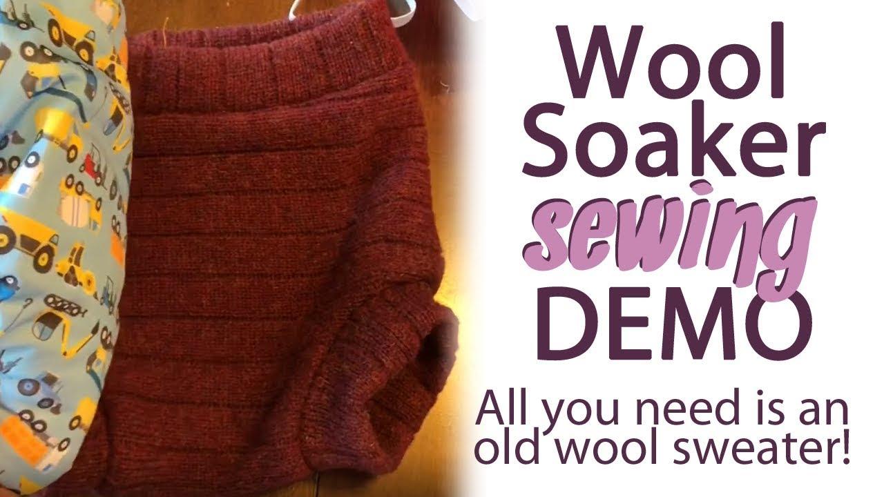 Diy Quick Easy Wool Soaker Beginner Sewing Demo Clothdiapers