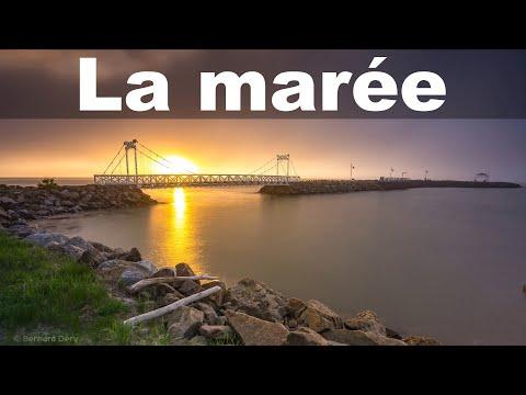 Timelapse de la marée à La Malbaie dans Charlevoix.