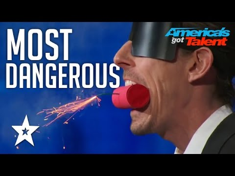 MOST DANGEROUS Auditions EVER On America's Got Talent | Got Talent Global