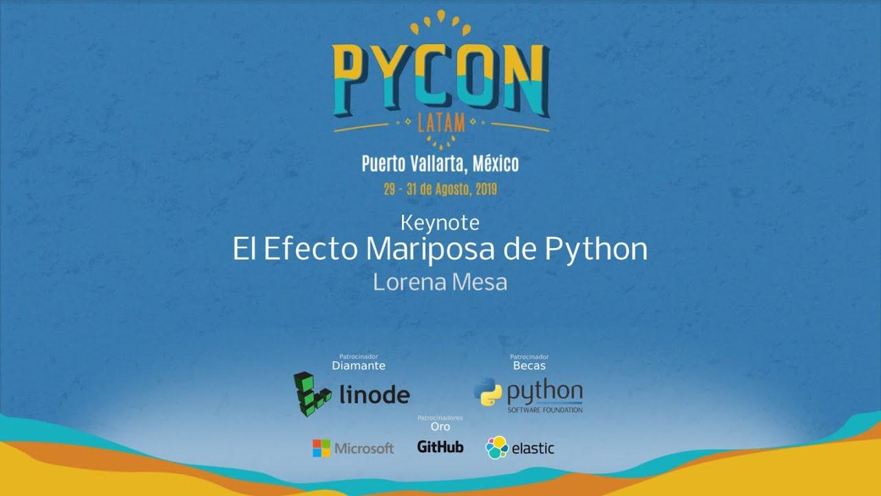 Image from El Efecto Mariposa de Python