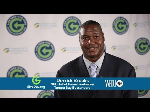 Give Day Tampa Bay 2016: Derrick Brooks