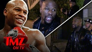 Floyd Mayweather Says He's 'DEAD SERIOUS' About MMA Fight | TMZ TV