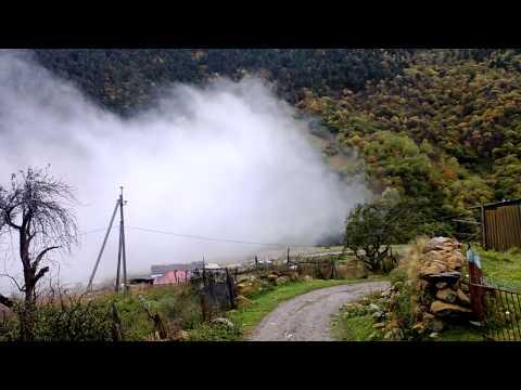 Туман в Дигорском ущелье