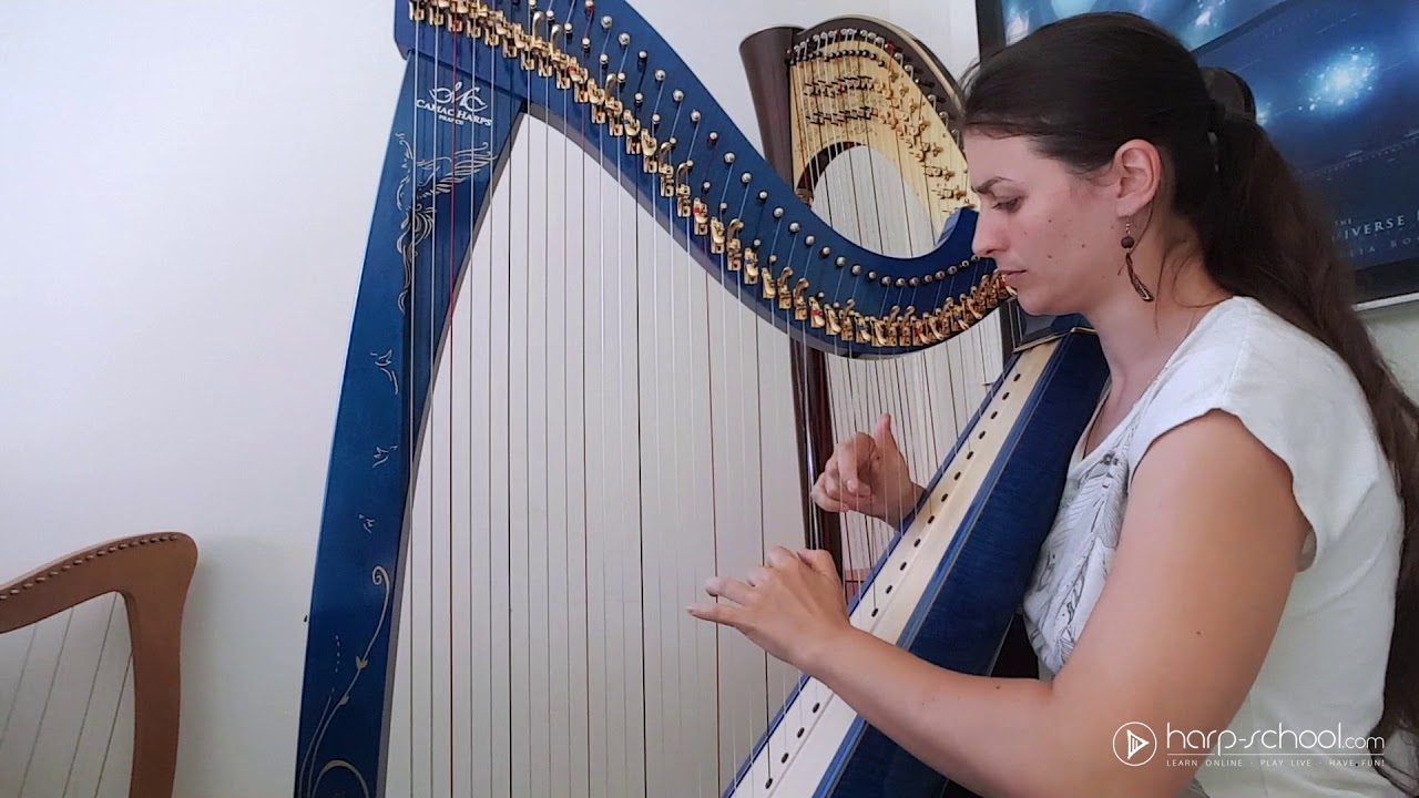 Cheyenne (by Evelina Simon) Original Harp Composition