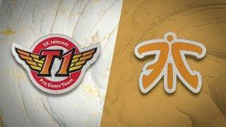 SKT vs FNC | Worlds Group Stage Day 7 | SK Telecom T1 vs Fnatic (2019)