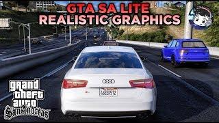 GRAFIKNYA GILA COY!! GTA SA LITE MOD ULTRA REALISTIC GRAPHICS   Hanya 320MB   Support All Os Android