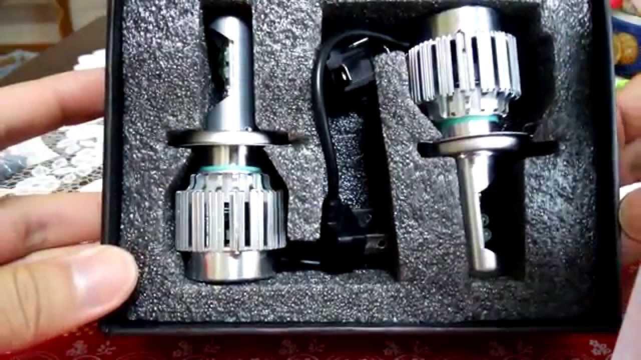 Cree Led H4 Headlight ヘッドライト Hikari製 3000lm H4 Youtube