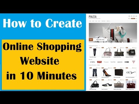 Free | How to start Ecommerce online shopping website Business with Free Template