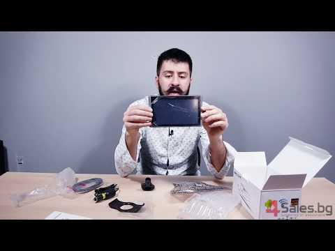Android видеорегистратор с GPS Wi Fi 3D карти Блутут, две камери, 7 инча AC57 8