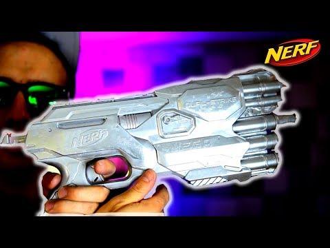 NEW LIQUID METAL NERF GUN and DART (DIY GALLIUM MOD!!)